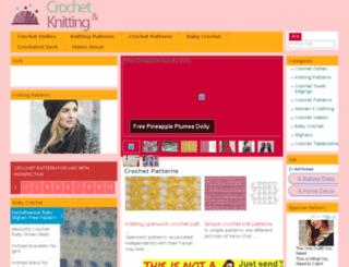 crochetandknitting.net screenshot