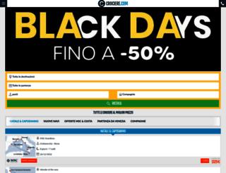 crociere.com screenshot