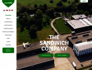 crocodille.com screenshot