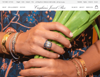 croghansjewelbox.com screenshot