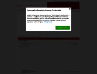 cronaldopoland.fora.pl screenshot