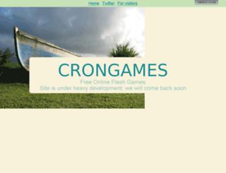 crongames.com screenshot