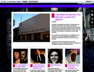 cronicasdecementerios.blogspot.com screenshot