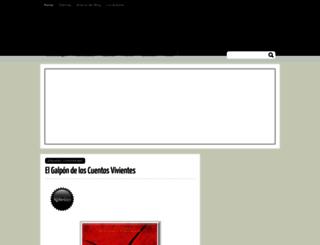cronicasdeunamovida.blogspot.com screenshot