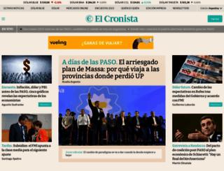 cronista.com screenshot