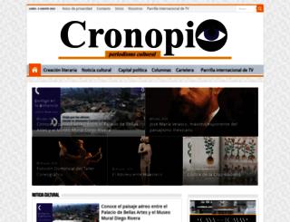 cronopio.mx screenshot