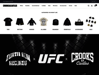 crooksncastles.com screenshot