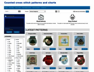 cross-stitchpatterns.com screenshot