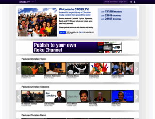 cross.tv screenshot
