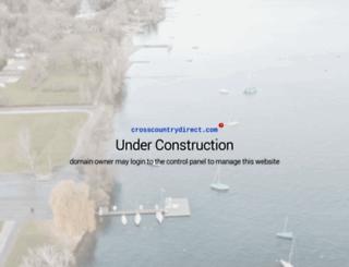 crosscountrydirect.com screenshot