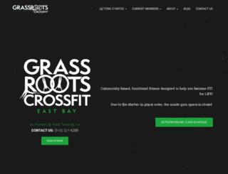 crossfiteastbay.com screenshot