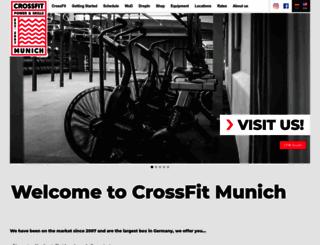 crossfitmunich.com screenshot