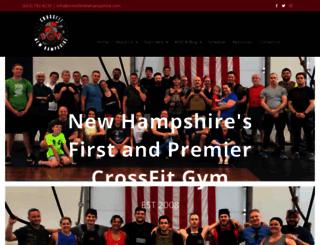crossfitnewhampshire.com screenshot