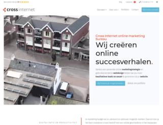 crossinternetmarketing.nl screenshot