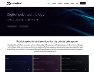 crosslend.de screenshot