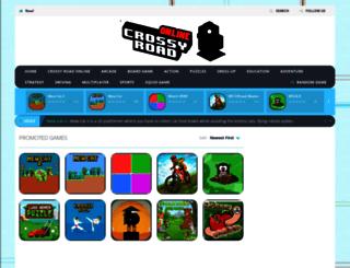 crossyroad-online.com screenshot