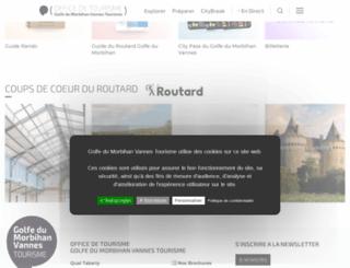 crouesty.fr screenshot