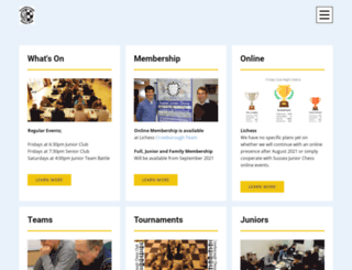 crowboroughchess.org screenshot