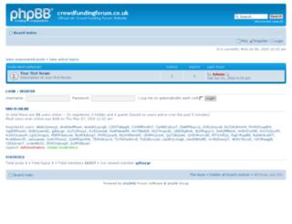 crowdfundingforum.co.uk screenshot