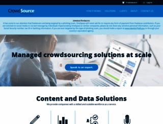 crowdsource.com screenshot