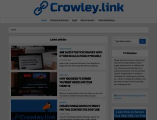crowley.link screenshot