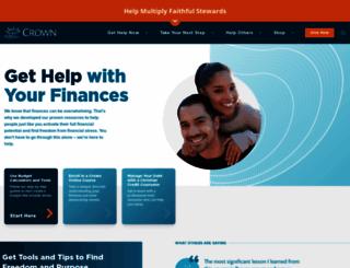 crown.org screenshot