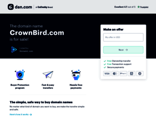 crownbird.com screenshot