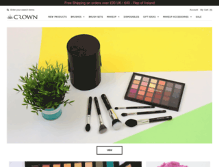 crownbrush.co.uk screenshot