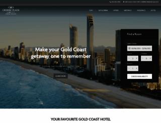 crowneplazasurfersparadise.com.au screenshot