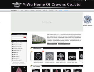 crowns-tiaras.com screenshot