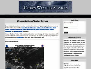 crownweather.com screenshot