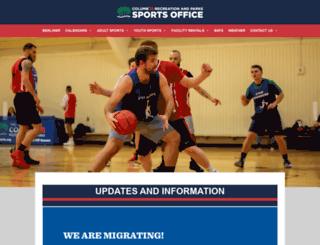 crpdsports.org screenshot