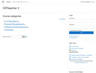 crteacher.com screenshot