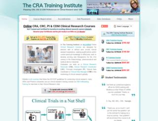 crtinstitute.org screenshot