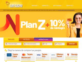 crucerodelnorte.com.ar screenshot