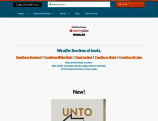 cruciformpress.com screenshot