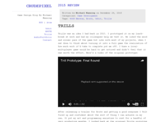 crudepixel.com screenshot