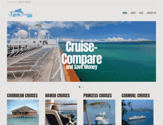 cruise-compare.com screenshot