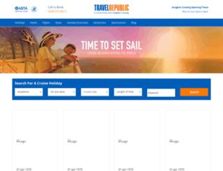 cruise.travelrepublic.co.uk screenshot