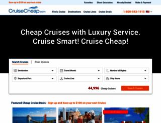 cruisecheap.com screenshot