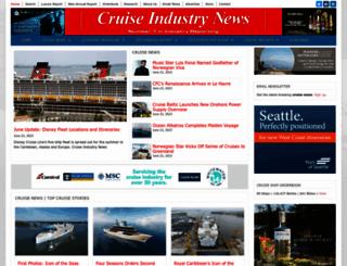 cruiseindustrynews.com screenshot