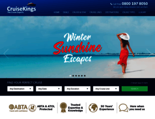 cruisekings.co.uk screenshot