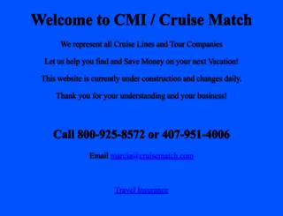 cruisematch.com screenshot