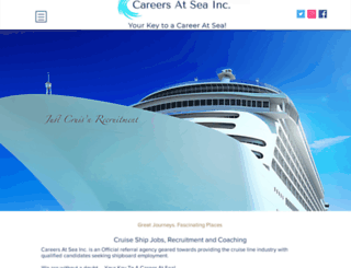 cruiseshipemployment.ca screenshot