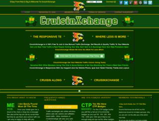 cruisinxchange.com screenshot