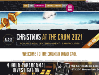 crumlinroadgaol.com screenshot