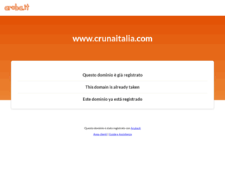 crunaitalia.com screenshot