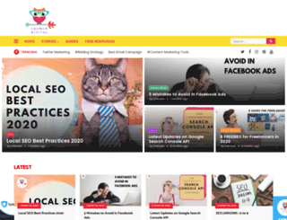 crunchdigital.in screenshot