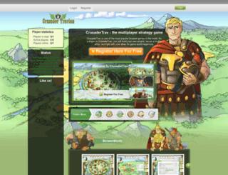crusadertrav.eu screenshot