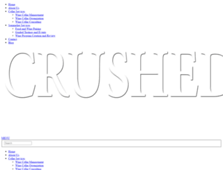 crushedconsulting.com screenshot